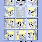 Faces of Derpy by BowserBasher