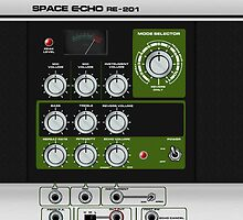 Space Echo by ixrid