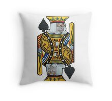 color make me smart even in games Throw Pillow