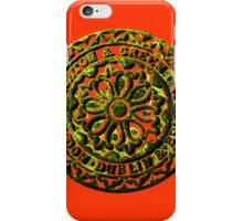 Coalhole cover - rustic iPhone Case/Skin