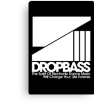 DropBass Logo (New) Canvas Print