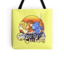 ThunderCats On The Chain Wax Tote Bag