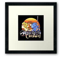 ThunderCats On The Chain Wax Framed Print