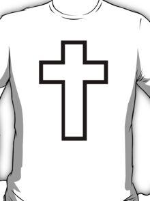 Black christian cross T-Shirt