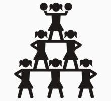 Cheerleader Pyramid by Designzz