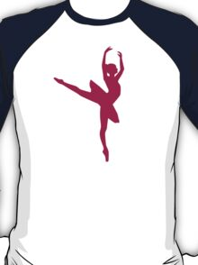 Ballerina dancing woman T-Shirt