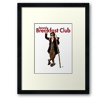 Second Breakfast Club Framed Print