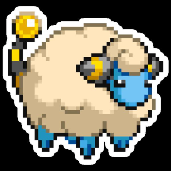 Pixel Mareep by Flaaffy