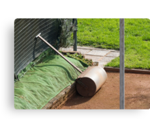 tool for tennis court Canvas Print