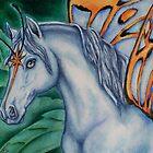 "Faery Horse ""Star Fyre"" by Beth Clark-McDonal"