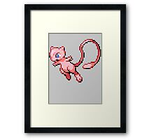 Legendary Mew Framed Print