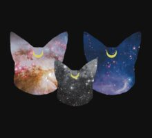 Moon Kitties by initiala