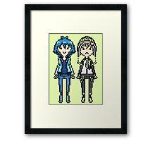 NoiAo Pixel Sprites Framed Print