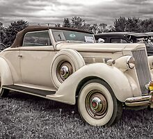 1936 Packard 120 Convertible Coupe by PhotosByHealy