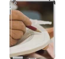 decorate handmade ceramics iPad Case/Skin