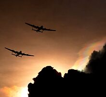 Lancasters by J Biggadike