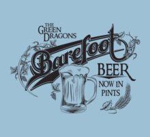 The Hobbit Barefoot Beer Shirt Kids Clothes