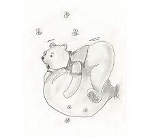 Balloon Pooh Bear Photographic Print
