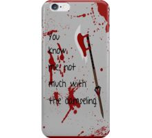 Badass Schoolgirl iPhone Case/Skin