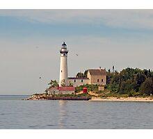 South Manitou Island Lighthouse Photographic Print