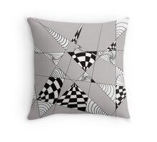 Geometric Openings Throw Pillow