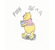Winnie the Pooh Photographic Print