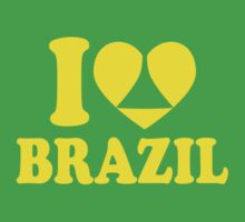 I Heart Brazil by Paducah