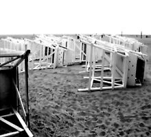 Lifeguard Chairs by Brian Harrison