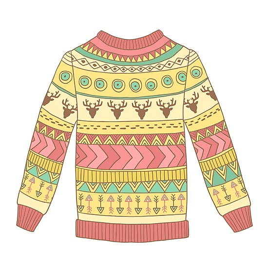 Cute cozy sweater by olarty