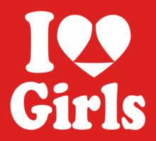 I Heart Girls by Paducah