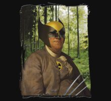 Wolverine + Ben Franklin Mash Up by jcestaro33