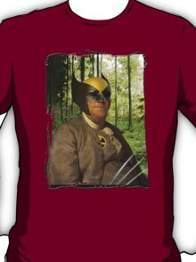 Wolverine + Ben Franklin Mash Up T-Shirt
