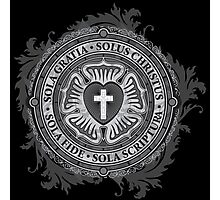 Luther Rose Christian Luther Seal Photographic Print