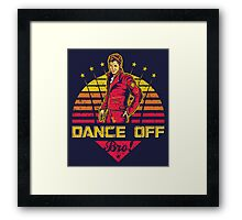 Dance Off Bro! (Distressed) Framed Print