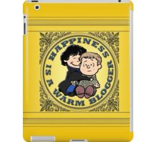 Happiness is a Warm Blogger iPad Case/Skin