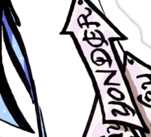 Alice's Bow and Arrows Sticker