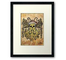 Merry Cthulhumas! Framed Print