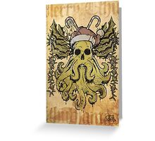 Merry Cthulhumas! Greeting Card