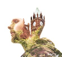 The Guildhall, Double Exposure by Y-Control