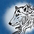 Midnight Wolf by TesniJade