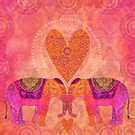 Elephant Love by artsandsoul