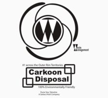 Carkoon Disposal (black) by Malc Foy