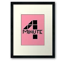 4minute Framed Print