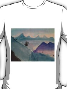 Watercolor Landscape T-Shirt