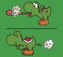 Yoshi swallows Togepi Kids Clothes