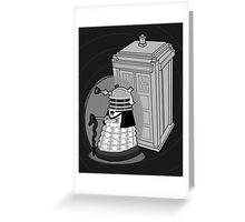 Daleks in Disguise - First Doctor Greeting Card