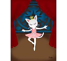 Ballet Cat Photographic Print