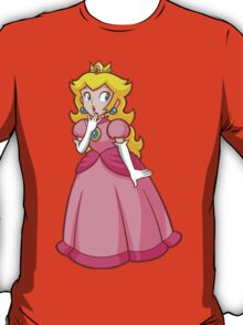 Princess Peach! - Surprised T-Shirt