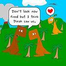 Dinah saw us (Dinosaurus) by beerman70
