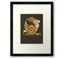 Gentlemon: Rai say! Framed Print